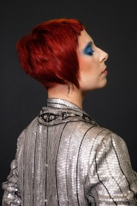diPietro Todd Salon Academy - Graduation Project Bowie Inspired
